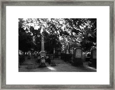 Graveyard 2 Framed Print