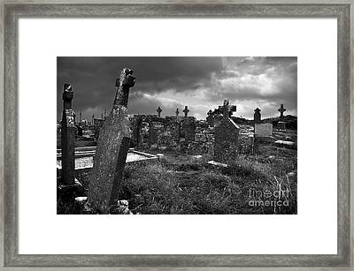 Graveyard At The Seven Churches Framed Print by RicardMN Photography