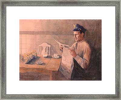 Graveyard Shift Framed Print by Mimi Boothby