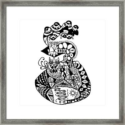Graviola Iv Framed Print