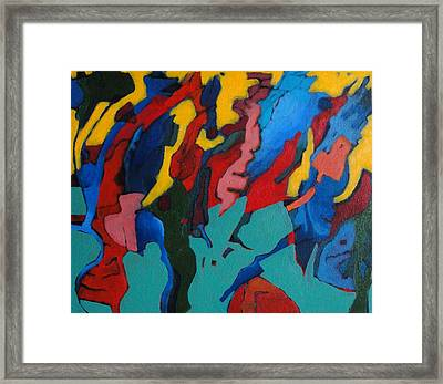 Gravity Prevails Framed Print by Bernard Goodman