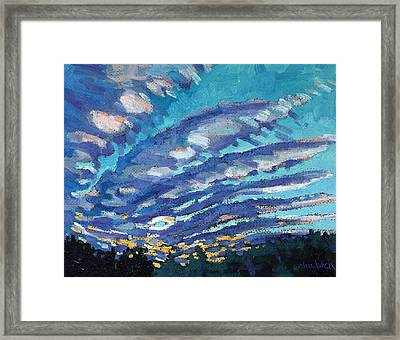 Gravity Storm Framed Print by Phil Chadwick