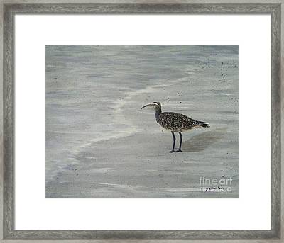 Gray Day Framed Print by JoAnn Wheeler