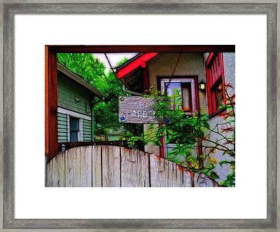 Gray Gardens Framed Print by Tim Coleman