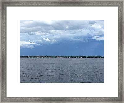 Gray Framed Print by Joanne Parks