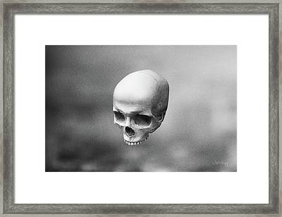 Gray Levity Framed Print