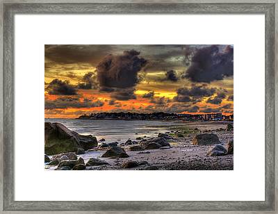 Gray Matter Framed Print by Jack Costello