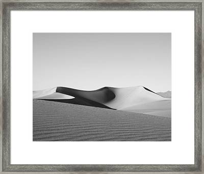 Gray Framed Print by Mike Irwin