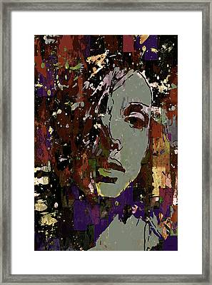 Framed Print featuring the photograph Gray Portrait by Jeff Gettis