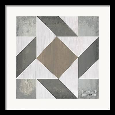 Gray Background Framed Prints