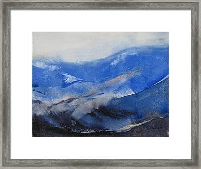 Gray Sky Framed Print by Helen Hayes