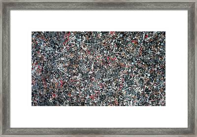 Gray Thing Framed Print by Ericka Herazo
