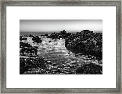Gray Waters Framed Print