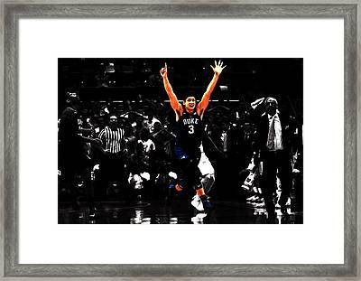 Grayson Allen Framed Print