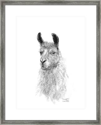 Grayson Framed Print