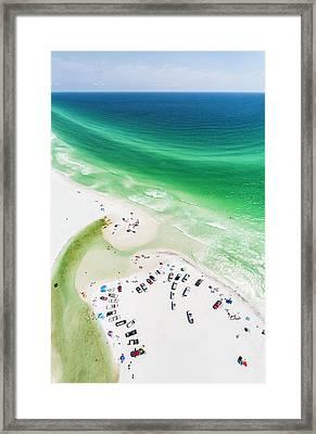 Grayton Beach Hang Time Framed Print