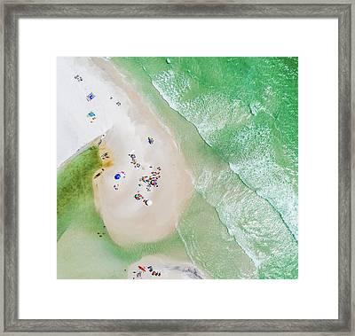 Grayton Beach Island Time Framed Print