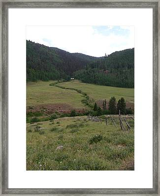 Grazing Lands Framed Print by Peter  McIntosh