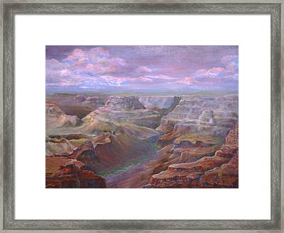 Greand Canyn Framed Print