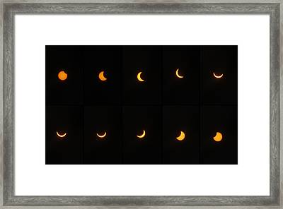 Great American Eclipse 2017 Framed Print