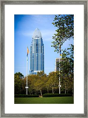 Great American Tower Framed Print by Keith Allen