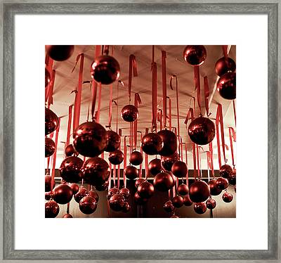 Great Balls Of Macy's Framed Print