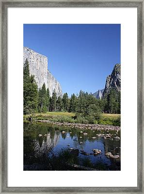 Great Basin Framed Print by Russell  Barton