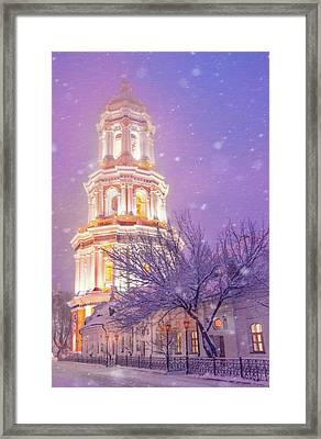 Great Belfry Story Framed Print