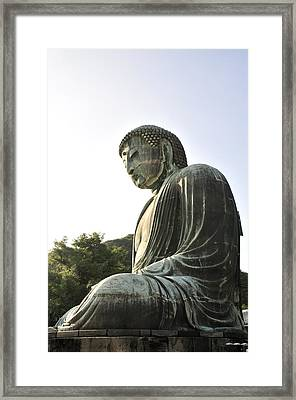 Great Buddha Of Kamakura Framed Print