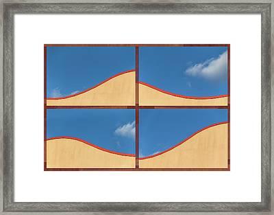 Great Curves -  Framed Print