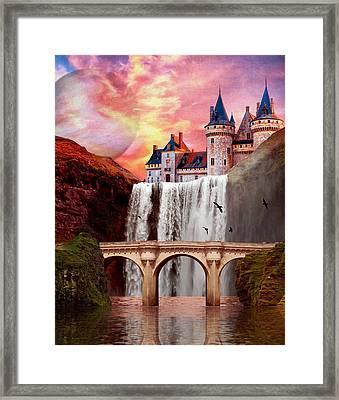 Great Falls Castle Framed Print
