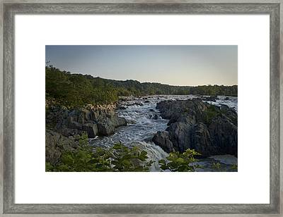 Great Falls Framed Print by Christina Durity