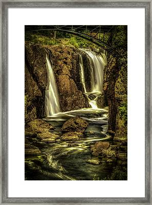 Great Falls Close Up Framed Print
