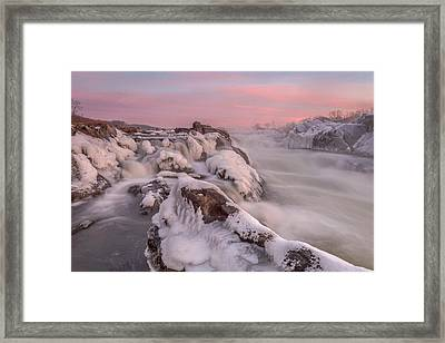Potomac River Great Falls Virginia Framed Print