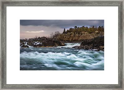 Great Falls Virginia Framed Print