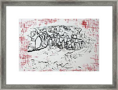Great Falls Waterfall 201752 Framed Print by Alyse Radenovic