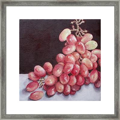 Great Grapes 2 Framed Print by Irene Corey