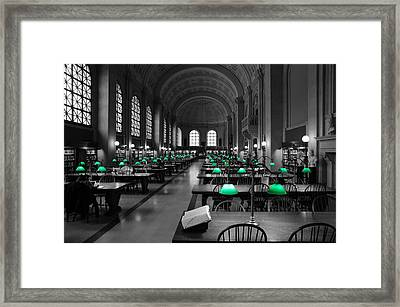 Great Hall Framed Print