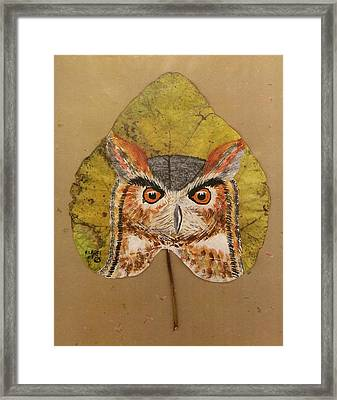 Great Horned Owl Framed Print