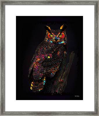Great Horned Framed Print