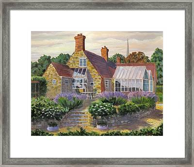 Great Houghton Cottage Framed Print