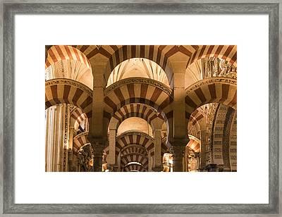 Great Mosque Of Cordoba - Cordoba Spain Framed Print by Jon Berghoff