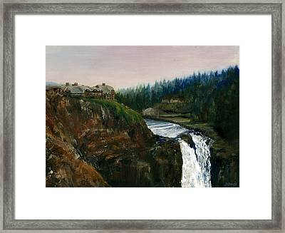 Great Northern Framed Print by Delaney Davis