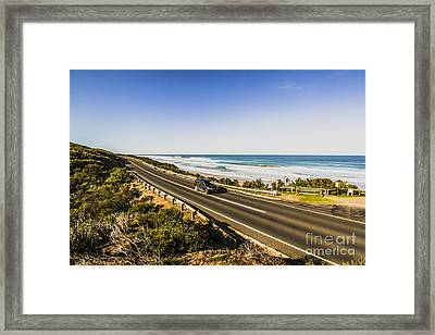 Great Ocean Road Framed Print by Jorgo Photography - Wall Art Gallery