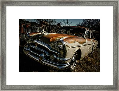 Framed Print featuring the photograph Great Old Packard by Marilyn Hunt