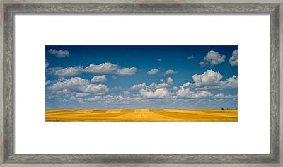 Great Plaines Panorama Framed Print