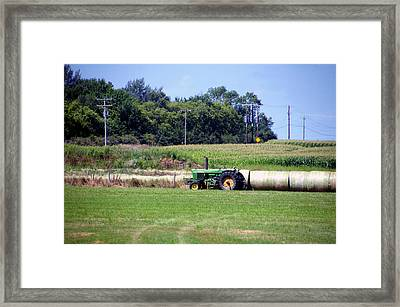 Great Plains Farming 03 Framed Print by Thomas Woolworth