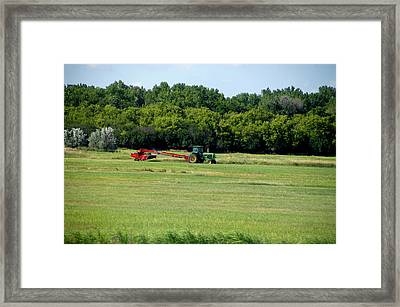 Great Plains Farming 04 Framed Print by Thomas Woolworth