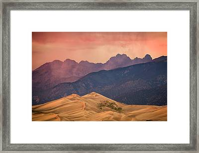 Great Sand Dunes Colorado Framed Print