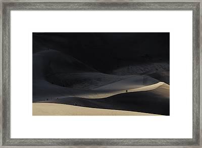 Great Sand Dunes National Park Framed Print